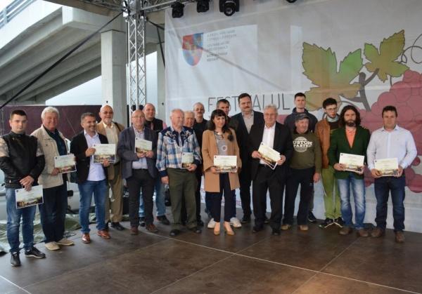 Câștigătorii Concursului Județean de Vinuri 2019