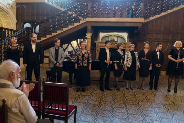 Public numeros la Recitalul Aniversar de la Castelul din Carei
