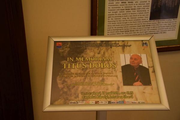 A fost vernisată expoziția In Memoriam Titus Doboș