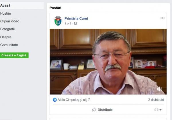 Primarul și președintele UDMR Carei îndeamnă careienii să iasă doar la votul pentru europarlamentare. Nu și pentru Referendum