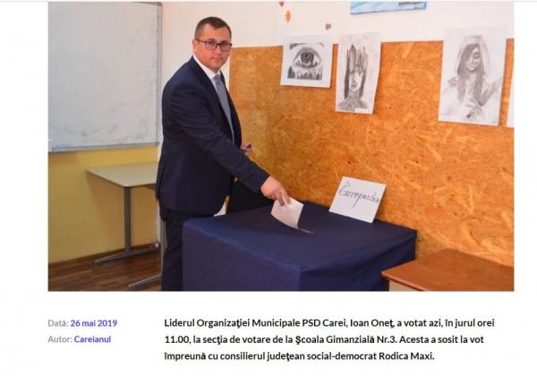 PNL ia cele mai multe voturi la Ianculești, satul natal al președintelui PSD Carei