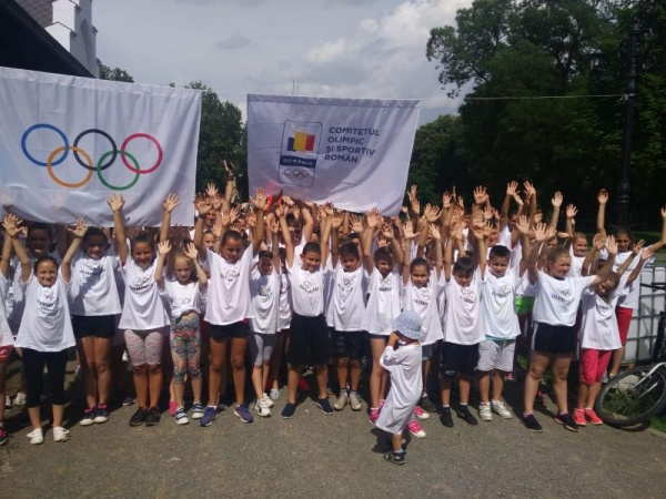 Cros olimpic la Carei