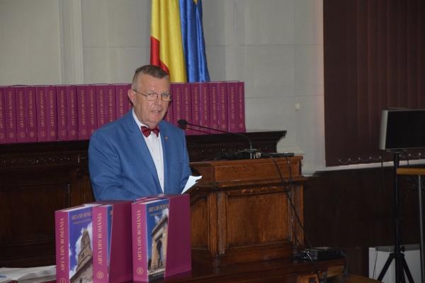S-a lansat ,,ARTA DIN ROMÂNIA, DIN PREISTORIE ÎN CONTEMPORANEITATE,,  la Academia Română