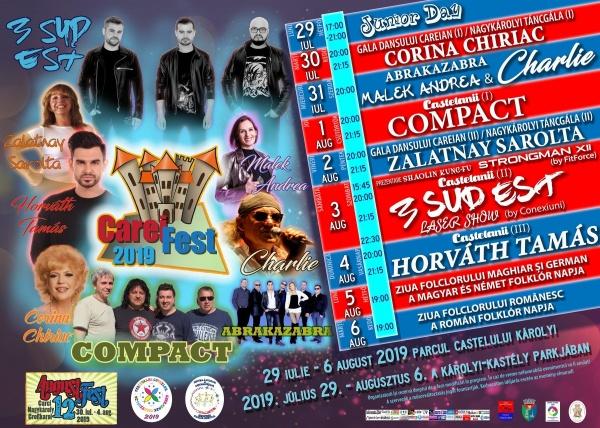 Compact, Corina Chiriac și 3 Sud Est vin la CareiFest