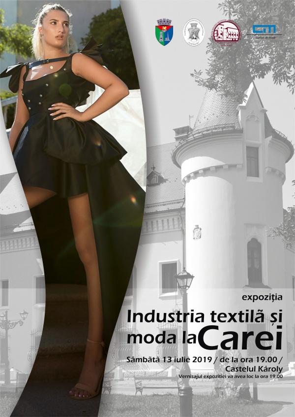 Industria textilă şi moda la Carei