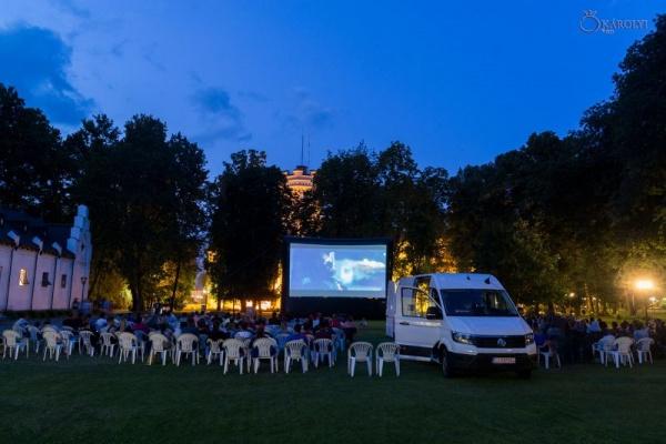 Parking, filmul ce a rulat în Parcul Dendrologic Carei în cadrul Caravanei TIFF