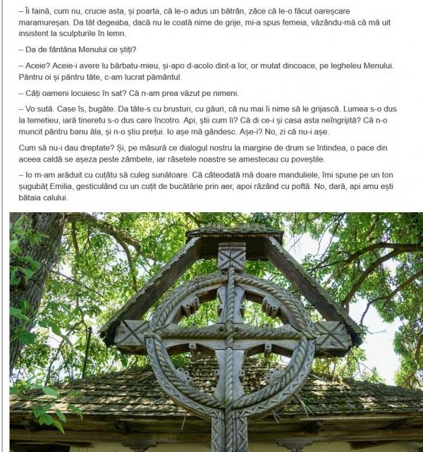 Atenție Megyeri! O cruce românească ca cea care nu vă place este și în satul Mălădia din Sălaj unde dăinuie de peste o mie de ani Fântâna lui Menumorut