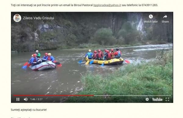 Înscrieri pentru activități de vacanță la Oradea