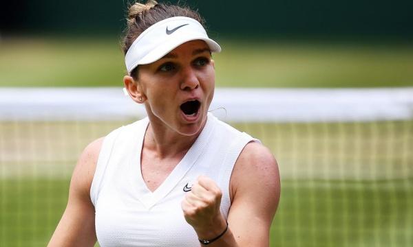 Simona Halep câștigă meciul cu Serena Wiliams și finala de la Wimbledon