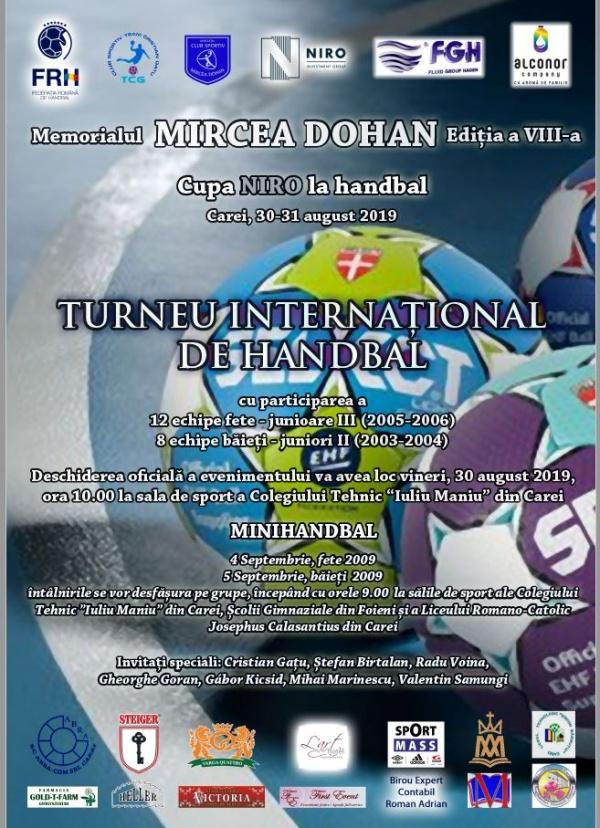"""Ploaie de campioni mondiali la Carei la Memorialul  """"Mircea Dohan""""- Cupa NIRO"""