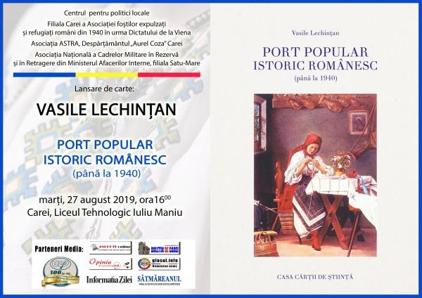 Invitație. Lansare de carte despre portul popular românesc