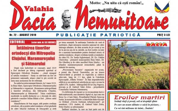 A apărut  un nou număr din Dacia Nemuritoare