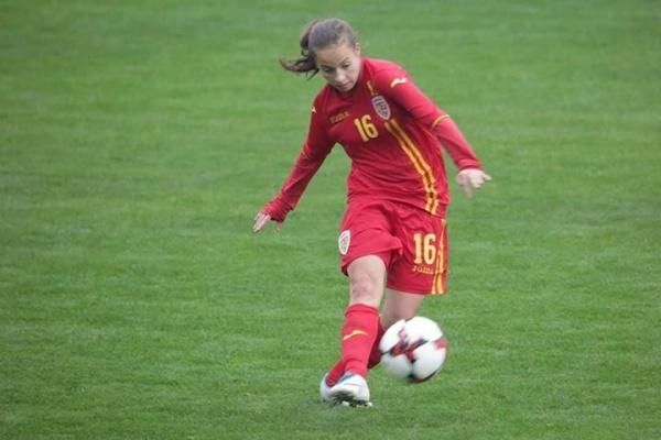 O careiancă în lotul național de junioare U17 la fotbal feminin