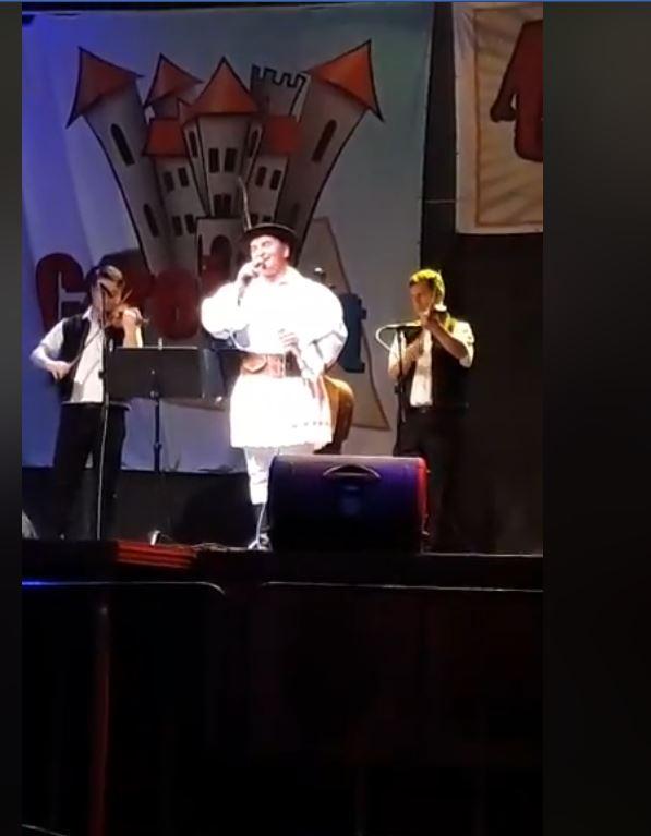 Recital Alexandru Pugna. Folclor românesc și sârbesc la CareiFest
