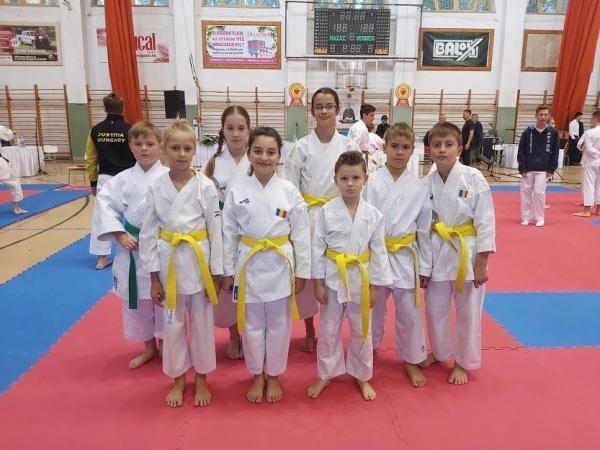 Clubul Sportiv Sakura  Carei revine cu numeroase premii din Ungaria