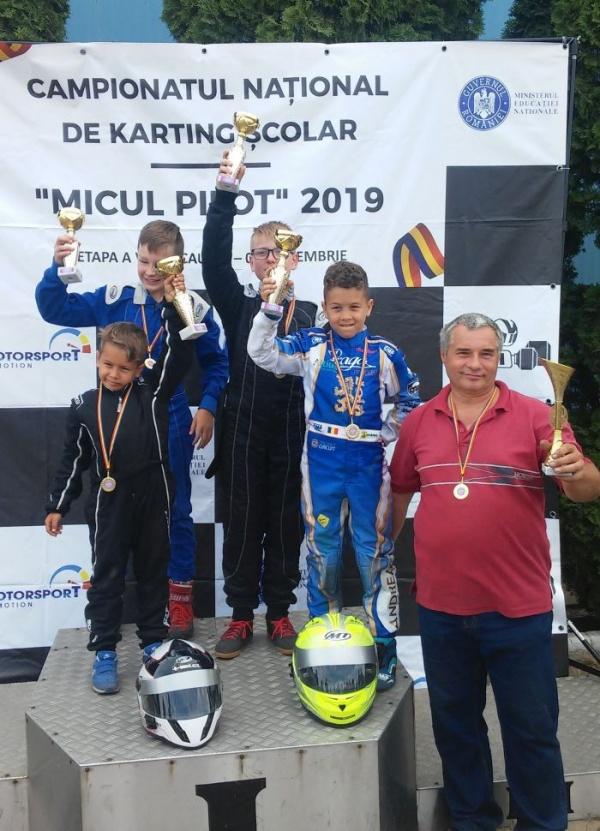 Karting. Premii pentru elevii lui Mille Ioan