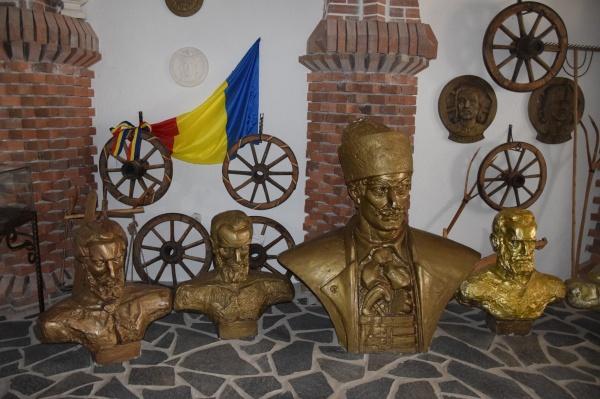 Avram Iancu și prefecții săi, la sfat, la Mănăstirea Sf.Ioan Botezătorul din Scărișoara Nouă