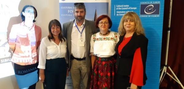 Careieni prezenți la lucrările celui de-al IX-lea Forum Anual Consultativ al Rutelor Culturale al Consiliului Europei de la Sibiu