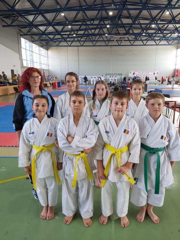 Sakura Carei  la Openul Bihorului. Sportivi selectați în lotul României