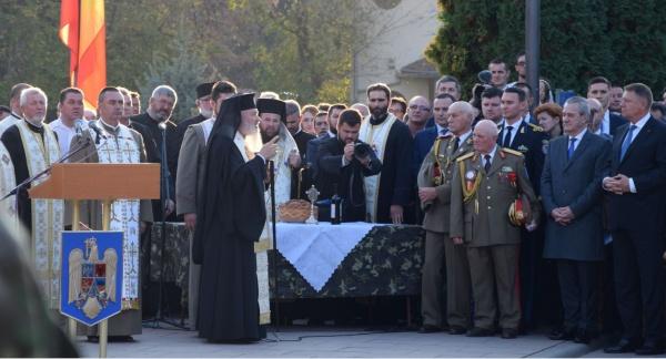 Cuvântul ÎPS Andrei, Mitropolitul Clujului, Maramureșului și Sălajului la Ziua Armatei de la Carei