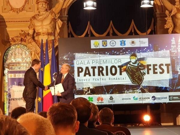 Un careian premiat la concursul PatriotFest