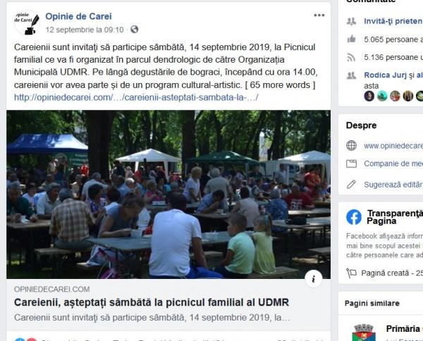 Primăria Carei mai libertină ca Poliția Română. Angajații din Primăria Carei au liber pe Facebook în timpul programului