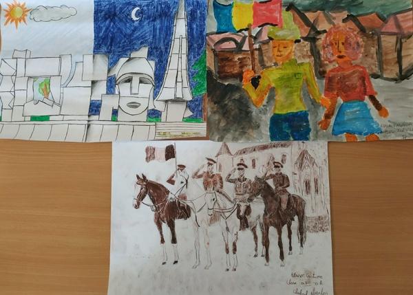 Câștigătorii concursului de desene dedicat Zilei Armatei