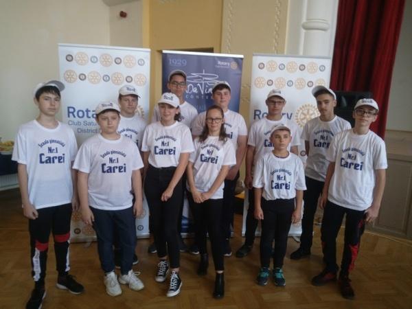 Elevi careieni pe podium la Concursul Regional de Robotică