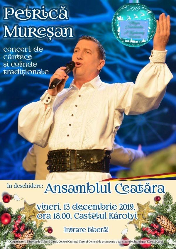 Concert Petrică Mureșan la Carei