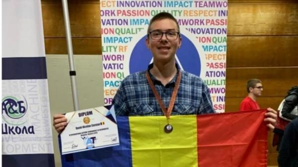 David Coroian, sătmăreanul care revine cu bronz de la Turneul Internațional de Informatică Shumen