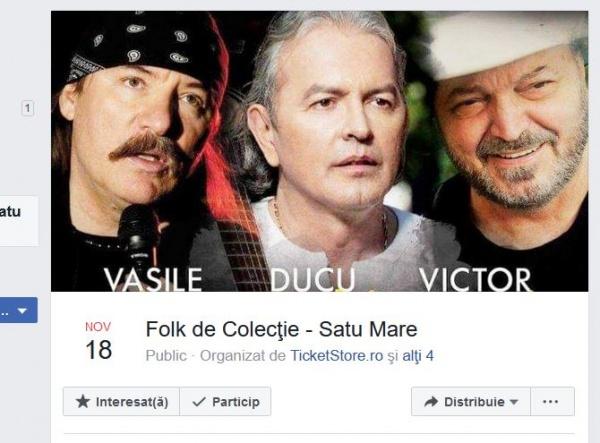 Folk de Colecție la Satu Mare