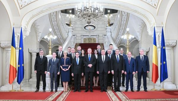 Miniștrii cabinetului Ludovic Orban și-au preluat mandatele