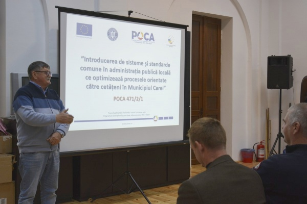 Primăria Carei anunță digitalizarea serviciilor publice folosind cuvinte inexistente în Dicționarul limbii române