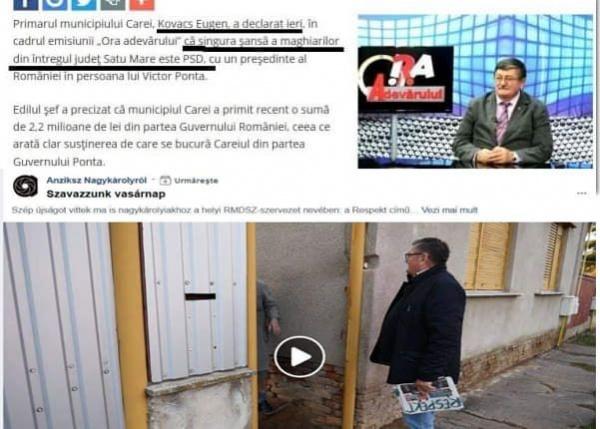 Ieri cu PSD azi cu UDMR. Candidatul Klaus Iohannis era linșat mediatic în 2014 de finul primarului ipocrit