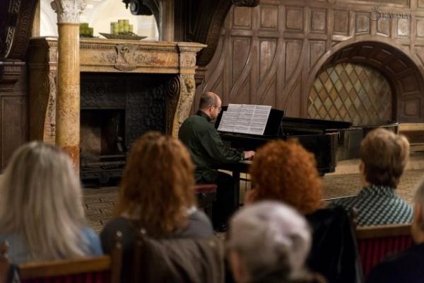 Concertul de pian al artistului  Alexei Nabioulin la Castelul din Carei