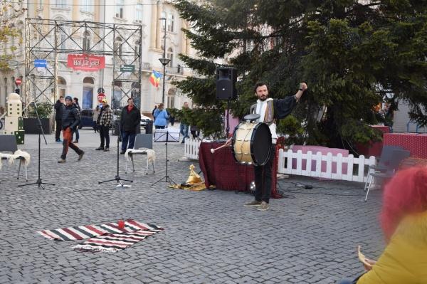 S-a deschis Târgul de Crăciun de la Cluj-Napoca