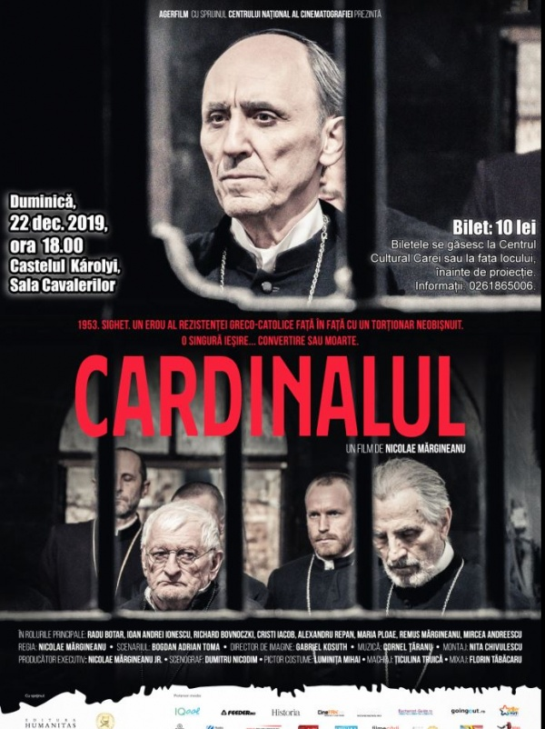 Cardinalul ajunge la Carei în 22 decembrie