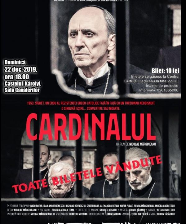 Nu mai sunt bilete pentru ,,Cardinalul,,