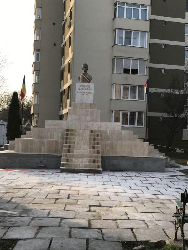 Ansamblul monumental Avram Iancu din Carei a fost reabilitat