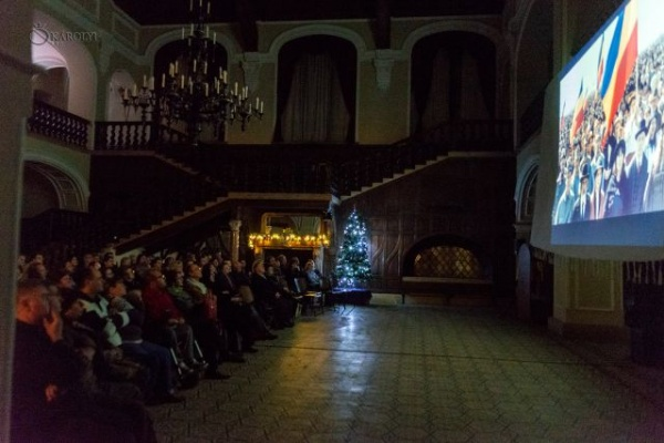 Gala de proiecție a filmului Cardinalul s-a desfășurat la Castelul din Carei