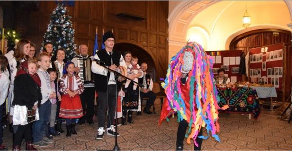 Steaua și Capra, obiceiuri prezentate la Festivalul de Datini ASTRA Carei 2019 de moții din Marna Nouă