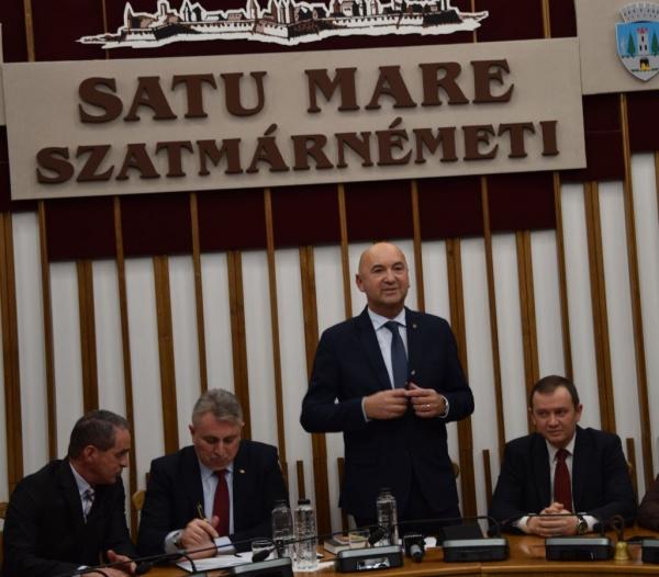 Investirea prefectului Radu Bud. Mesajul Ministrului Transporturilor. Video