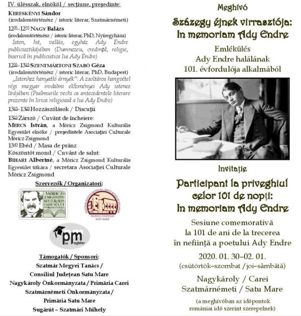 Pentru limba română apăsați tasta 2…Pe tasta 1 e limba maghiară. Eveniment sponsorizat de Consiliul Județean Satu Mare, Primăriile Carei și Satu Mare