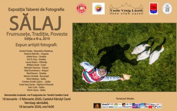 Imagini din Sălaj prezente în expoziția de artă fotografică de la Carei