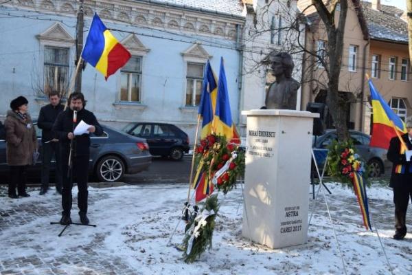 Împreună cu Mihai Eminescu la Carei la cea de-a 170-a aniversare