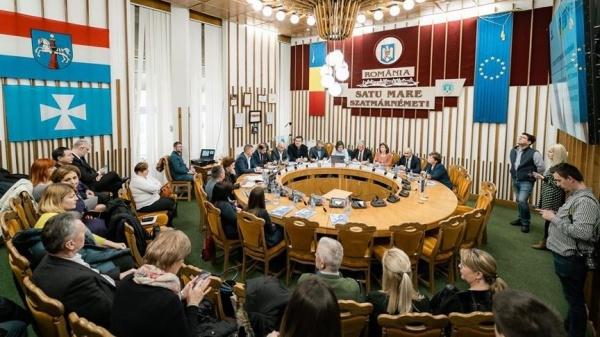 Întâlnirea Serviciilor Publice de Ocupare din România și Ungaria la Prefectura Satu Mare