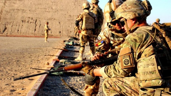 Militarii români se retrag din Irak