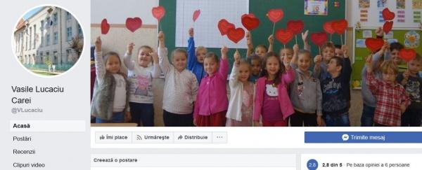 Vasile Lucaciu ignorat de Școala Vasile Lucaciu Carei