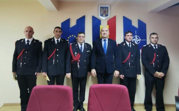 Avansări în grad cu ocazia sărbătoririi Zilei Protecției Civile la Satu Mare