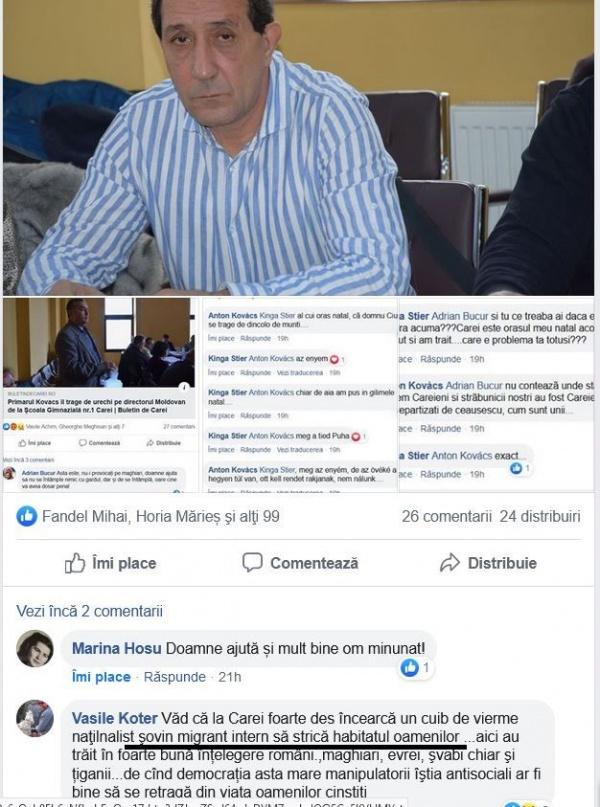 Ditrău în varianta online. Consilier român din Carei făcut migrant intern de un artist sătmărean